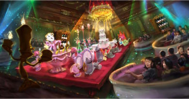Get A Preview Of The Beauty And The Beast Attraction At Tokyo Disney