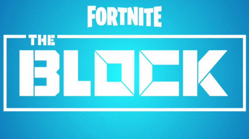 The Block Drops On Fortnite