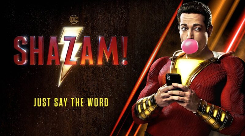 Check Out The New Poster For SHAZAM!